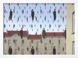 Golconde Posters by Rene Magritte