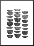 Scandanavian Geometry Mounted Print by Brett Wilson