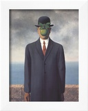 Son of Man (Small) Prints by Rene Magritte