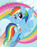 My Little Pony- Rainbow Dash Pósters