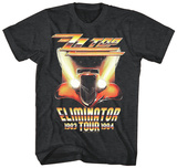 ZZ Top- Eliminator Tour T-shirts