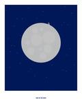 Man on the Moon: Rem Pôsters por Christophe Gowans