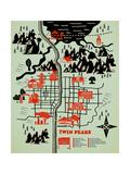 Welcome to Twinpeaks Posters por Robert Farkas