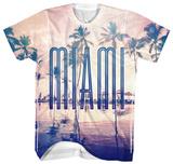 Miami Sunny Palms Shirts