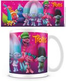 Trolls - Characters Mug Taza