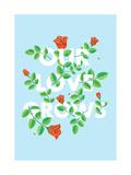 Our Love Grows Prints by Chris Wharton
