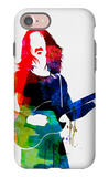 Frank Watercolor iPhone 7 Case by Lora Feldman