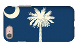 South Carolina State Flag iPhone 7 Case by  Lantern Press
