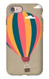 Hot Air Balloon iPhone 7 Case by  Lantern Press
