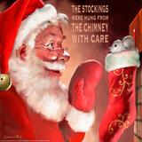 Santa 3 Stockings Affiches par Chris Consani