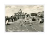Basilica S Pietro Giclée-Premiumdruck von Alan Paul