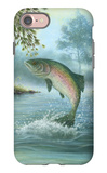 Rainbow Trout Jumping iPhone 7 Case