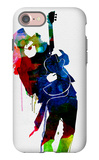 Slash Watercolor iPhone 7 Case by Lora Feldman