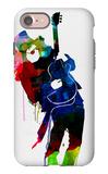 Slash Watercolor iPhone 7 Case by Lora Feldman