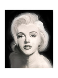 Beautiful in Black Premium Giclee Print by Jerry Michaels