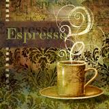 Coffee 3 Espresso Prints by Viv Eisner