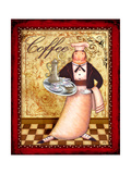 Chef 1 Coffee Posters by Viv Eisner