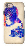 Gramophone 2 iPhone 7 Case by  NaxArt