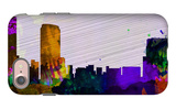 Grand Rapids City Skyline iPhone 7 Case by  NaxArt