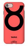 Taurus Zodiac Sign Black iPhone 7 Case by  NaxArt