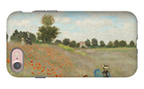 Poppy Field, Near Argenteuil, c.1873 iPhone 7 Case by Claude Monet
