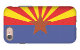 Arizona State Flag iPhone 7 Case by  Lantern Press