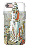 Manhattan iPhone 7 Case by  HR-FM