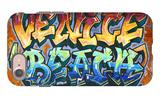 Venice Beach, California - Graffiti iPhone 7 Case by  Lantern Press