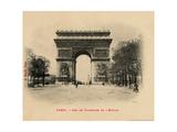Arc De Triomphe 1903 Art by Alan Paul