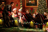 Classic Interlude Christmas Print by Chris Consani