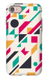 Abstract Pattern iPhone 7 Case by  Magnia