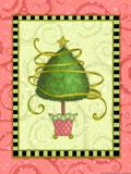 Holiday Tree 3 Premium Giclee Print by Viv Eisner