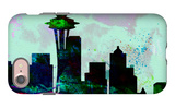Seattle City Skyline iPhone 7 Case by  NaxArt