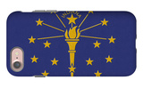 Indiana State Flag iPhone 7 Case by  Lantern Press