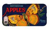 Mariposa Apple Label - San Francisco, CA iPhone 7 Case by  Lantern Press