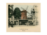 Le Moulin Rouge Premium Giclee Print by Alan Paul