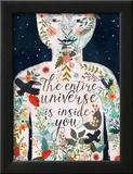 The Entire Universe 2 Print by Mia Charro