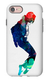 Michael Watercolor iPhone 7 Case by Lora Feldman
