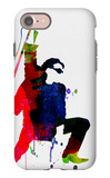 Bono Watercolor iPhone 7 Case by Lora Feldman