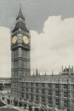 Big Ben Print by Alan Paul