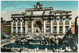 Trevi Fountain Prints by Alan Paul