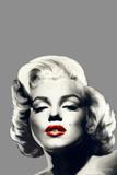Red Lips Marilyn Art