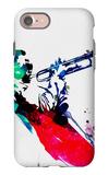 Miles Watercolor iPhone 7 Case by Lora Feldman