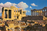 Acropolis Print by Alan Paul