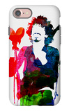 Santana Watercolor iPhone 7 Case by Lora Feldman