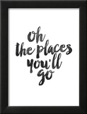 Oh the Places Youll Go Prints by Brett Wilson