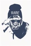 Harambe Hipster- Rare Plakaty