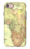 1922 Africa Map with portions of Europe and Asia iPhone 7 Case by  National Geographic Maps