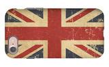 Uk Aged Flat Flag iPhone 7 Case by  nazlisart