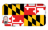 Maryland - State Flag iPhone 7 Case by  Lantern Press